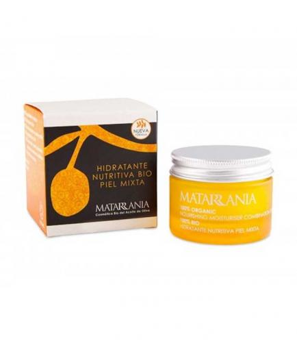 Matarrania - 100% Bio nourishing moisturizing facial cream - Mixed skin