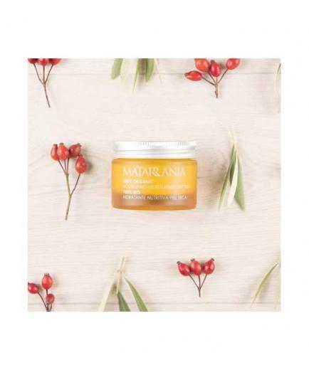 Matarrania - 100% Bio nourishing moisturizing facial cream - Dry skin
