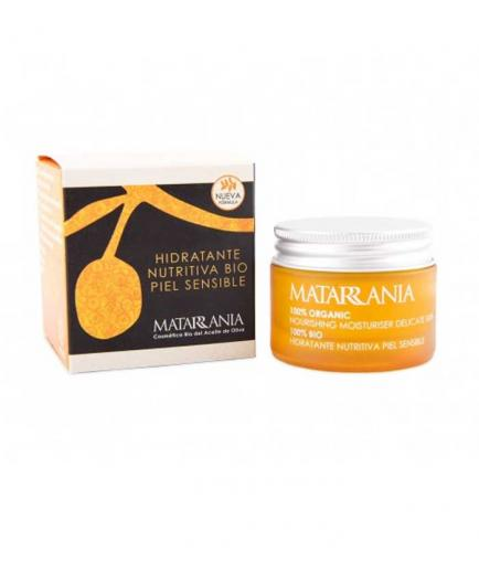 Matarrania - 100% Bio nourishing moisturizing facial cream - Sensitive skin