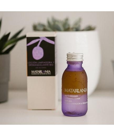Matarrania - Cleansing and make-up remover lotion 100% Bio