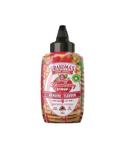 Max Protein - Syrup 0% Grandma's 290ml - Strawberry