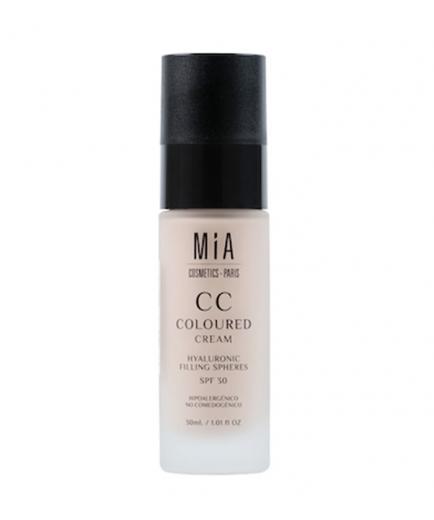 MIA COSMETICS - Makeup base CC Coloured Cream SPF30 - Light