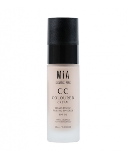 MIA COSMETICS - Base de maquillaje CC Coloured Cream SPF30 - Light