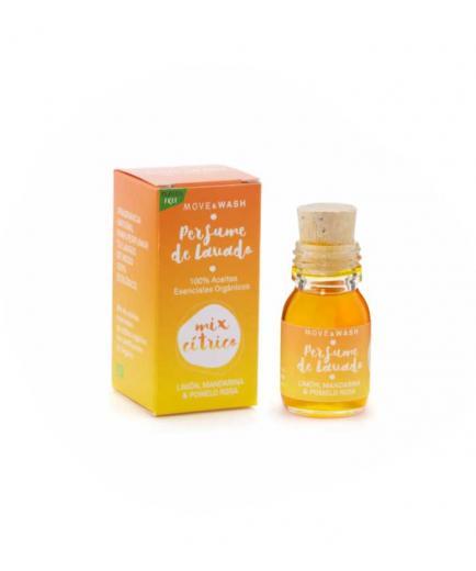 Move & Wash - 100% Organic Citrus Mix Wash Perfume 30ml - Lemon, Tangerine and Pink Grapefruit