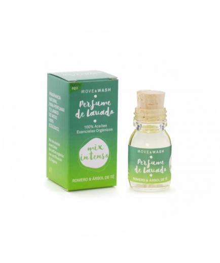 Move & Wash - 100% organic Intense Mix washing perfume 30ml - Rosemary and Tea Tree