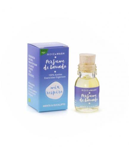 Move & Wash - Mix Respiro 100% organic wash perfume 30ml - Mint and Eucalyptus