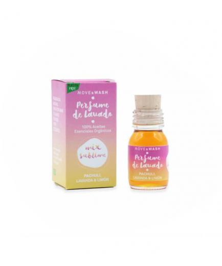 Move & Wash - 100% ecological Mix Sublime washing perfume 30ml - Patchouli, Lavender and Lemon