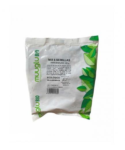 Muuglu - Mix 6 organic seeds gluten free 250g
