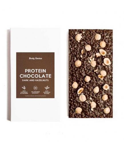 My Body Genius - Protein Chocolate - Dark and hazelnuts