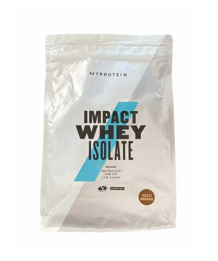 My Protein - Whey protein isolate powder gluten free 1kg - Chocolate brownie