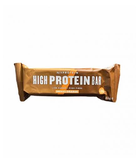 My Protein - High protein bar 80g - Chocolate and orange
