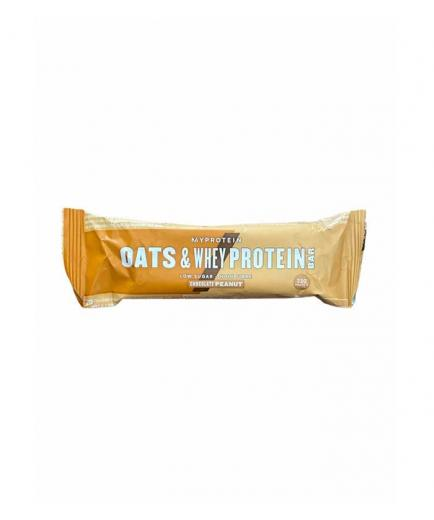 My Protein - Oatmeal and whey protein bar 88g - Chocolate and peanut