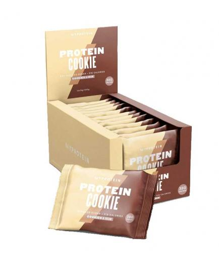 My Protein - Protein cookies box 12x75g - Cookies & cream