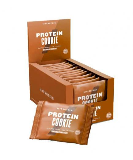 My Protein - Protein biscuits box 12x75g - Double chocolate