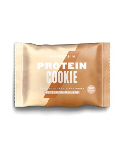 My Protein - Protein biscuit 75g - White chocolate with almonds