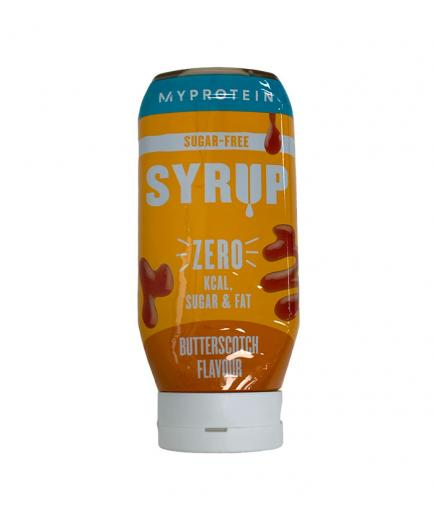 My Protein - Low Calorie Sugar Free Syrup - Buttered Sugar Candy