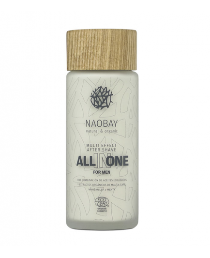 Naobay - Bálsamo After shave para hombre All in One