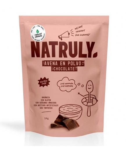 Natruly - Natural oatmeal powder 1kg - Chocolate