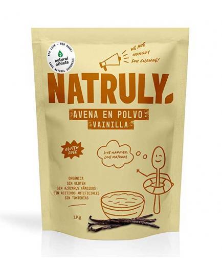 Natruly - Natural oatmeal powder 1kg - Vanilla