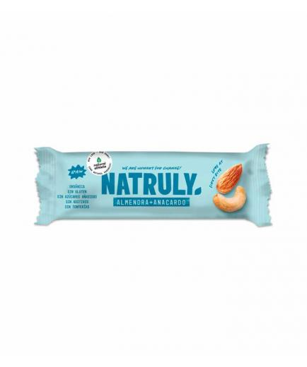 Natruly - RAW natural bar 40g - Almond and cashew