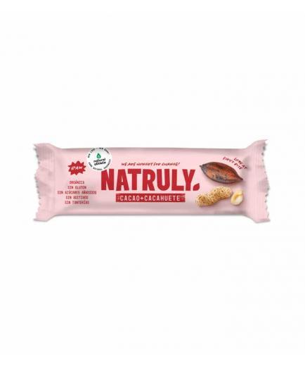 Natruly - RAW natural bar 40g - Cocoa and peanut