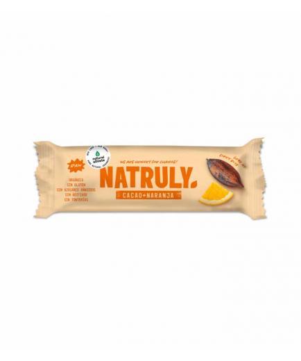 Natruly - RAW natural bar 40g - Cocoa and orange