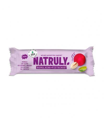 Natruly - RAW natural bar 40g - Beet and pistachio