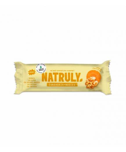 Natruly - RAW natural bar 40g - Carrot and walnuts