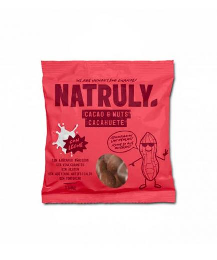 Natruly - Chocolicious coated peanuts with gluten-free milk 150g