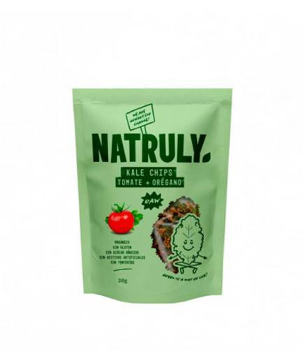 Natruly - Kale chips 30g - Tomato and oregano