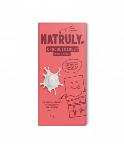 Natruly - Chocolate 72% Chocolicious 85g - With milk