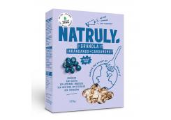 Natruly - Granola with nuts and seeds Bio 325g - Blueberries and cardamom