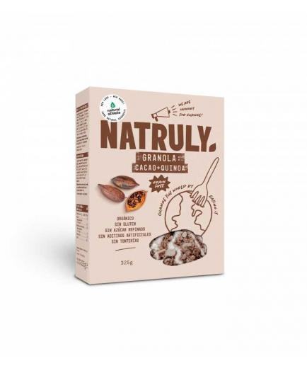 Natruly - Granola with nuts and seeds Bio 325g - Cocoa, coconut and quinoa