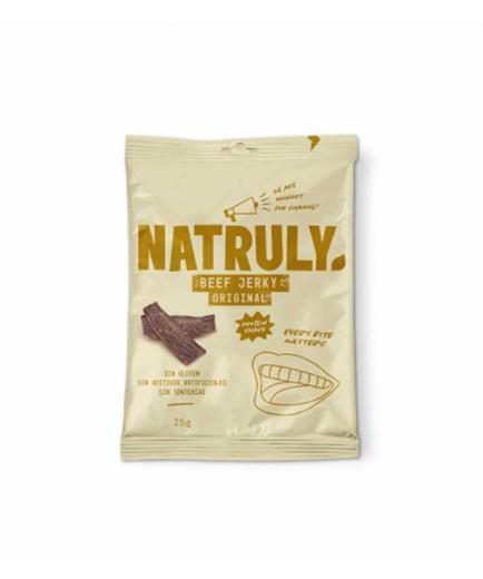 Natruly - Smoked dried meat snack Beef Jerky 25g - Original
