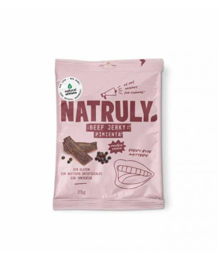 Natruly - Smoked dried meat Snack Beef Jerky 25g - Pepper