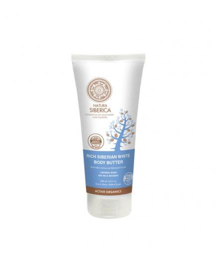 Natura Siberica - White body oil thick Siberian anti-cellulite Anti-age
