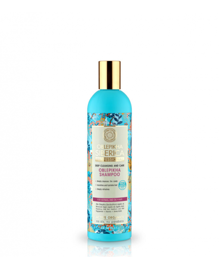 Natura Siberica - Shampoo oblepikha - For normal and oily hair