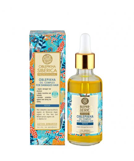 Natura Siberica - Complex oils oblepikha - Damaged hair