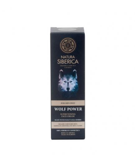 Natura Siberica - Cream Facial Super toning the power of the Wolf for men