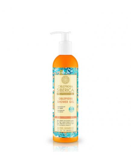 Natura Siberica - Oblepikha shower gel - Intensive hydration and nutrition