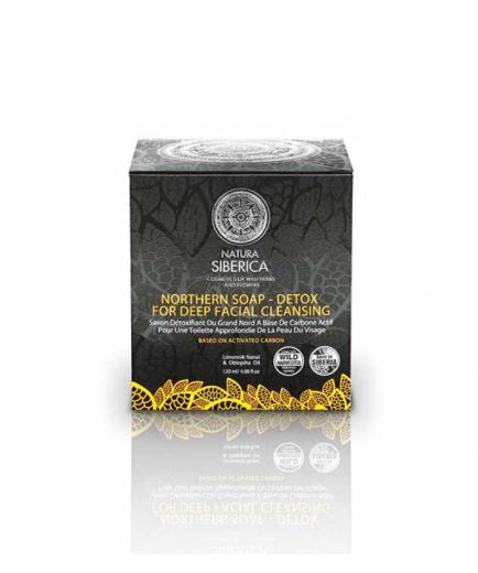 Natura Siberica - Detox Nordic Black Soap