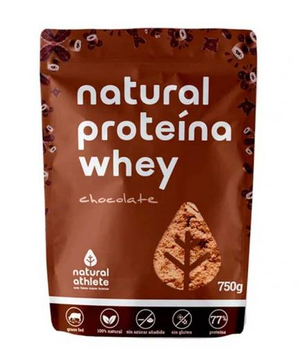 Natural Athlete - Natural protein Whey Grass-Fed 750g - Chocolate