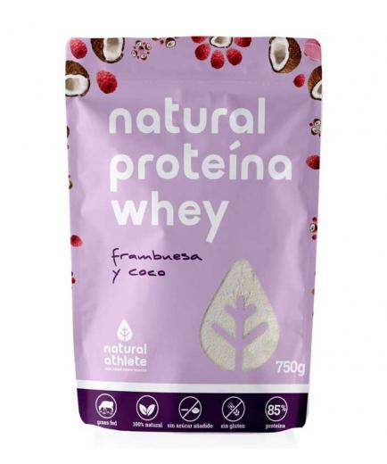 Natural Athlete - Natural protein Whey Grass-Fed 750g - Raspberry and coconut