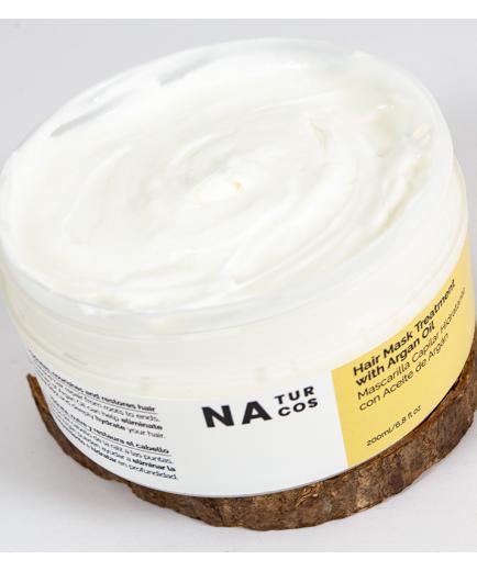 Naturcos - Hair mask moisturizing with Argan oil 200ml