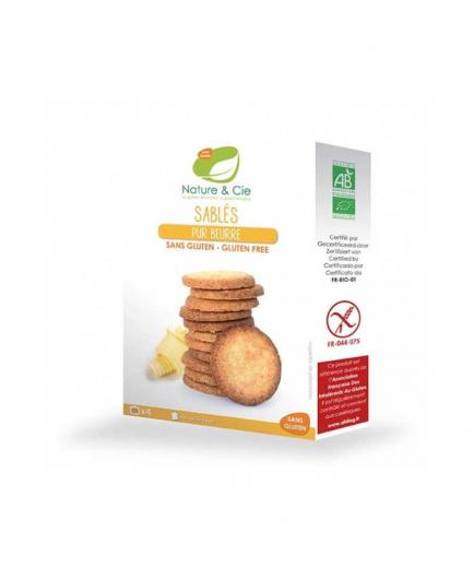 Nature & Cie - Gluten-free biscuits with butter