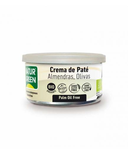 Naturgreen - Organic gluten-free almond and olive pate cream 130g