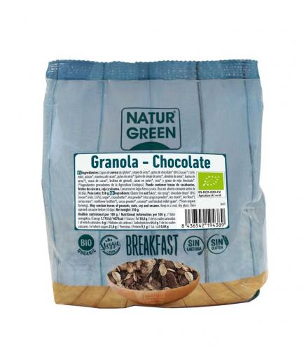 Naturgreen - Granola without gluten Bio 350g - Chocolate