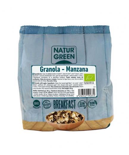 Naturgreen - Granola without gluten Bio 350g - Apple