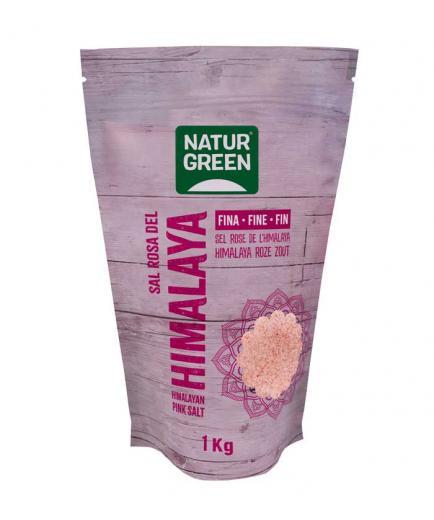 Naturgreen - Fine Pink Himalayan Salt 1kg