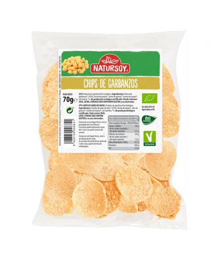 Natursoy - Chickpea Chips Bio